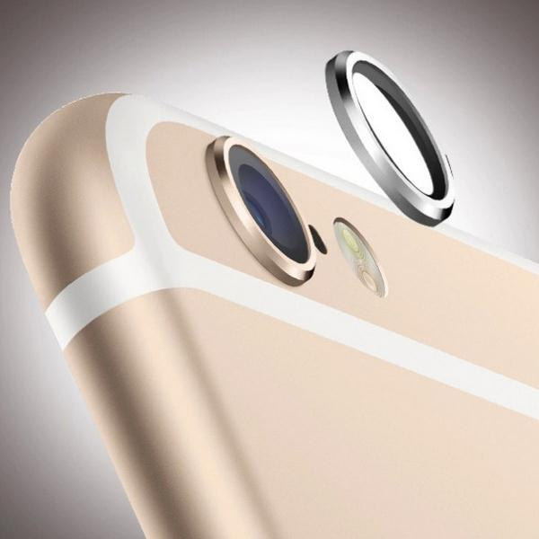 Rear Camera Metal Protective Ring for iPhone 6 4.7 iPhone6 Lens Circle Cover Case Bumper for iPhone 6 Plus 5.5 inch 5 Colors(China (Mainland))