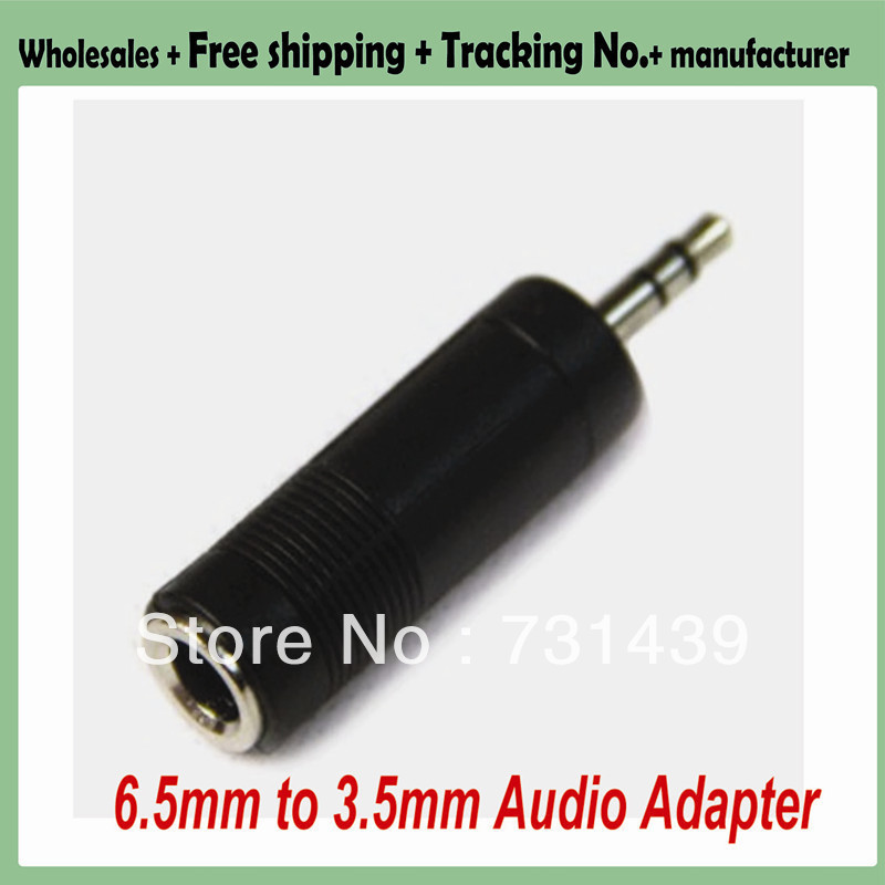 30pcs/lot!Free shipping+ Electric guitar 6.5mm Female to 3.5mm Male Audio Adapter Converter Plug+wholesales(China (Mainland))