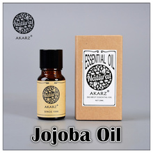Famous brand AKARZ free shipping 100% pure natural aromatherapy Jojoba essential oil Skin Hair care bath maintenance Jojoba oil