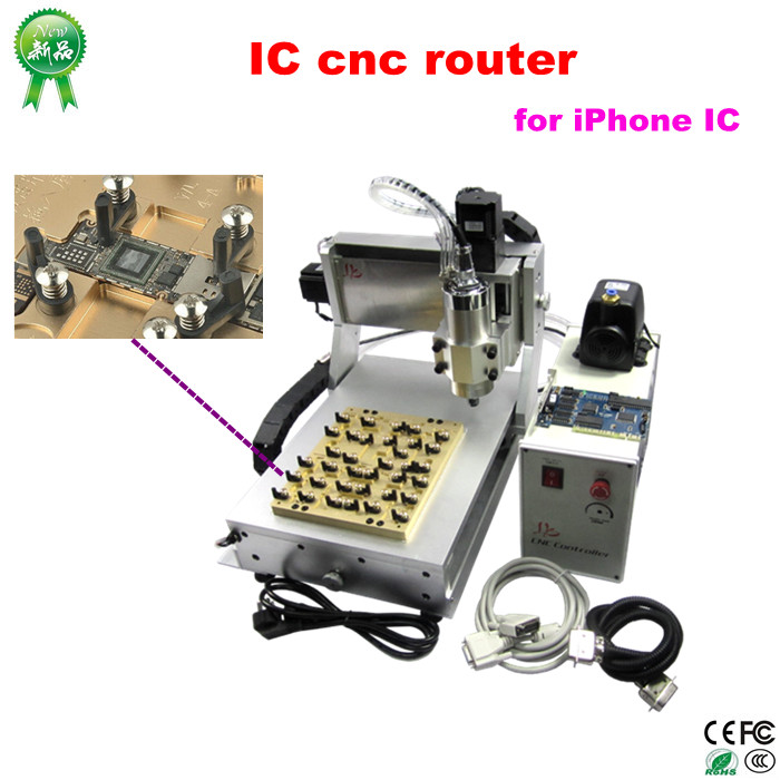 Professional LY 3020 8 in 1 automatic IC CNC router for iPhone removing iCloud,Just For iPhone IC Repair(China (Mainland))