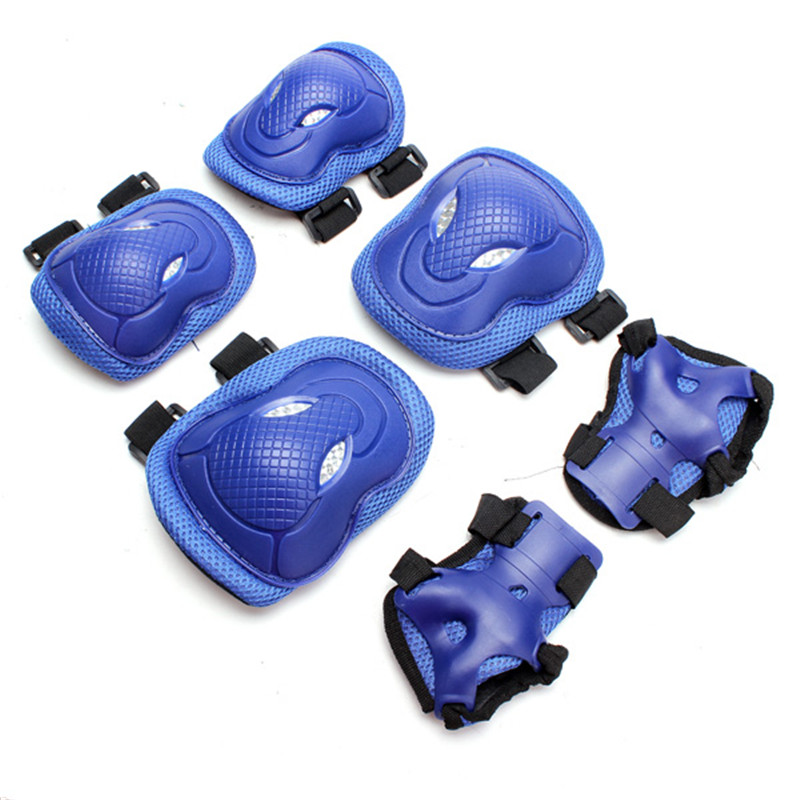2015 High Quality 3Colors 6pcs Knee Pads Elbow Protection Electric Unicycle Practice Gear Guard Pad(China (Mainland))