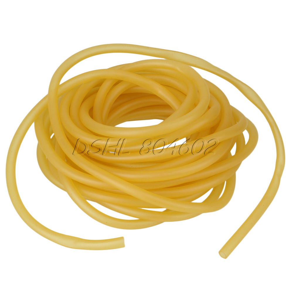 9 x 6mm Natural Latex Rubber Elastic Band Surgical Tubing Slingshot Sport 1000CM(China (Mainland))