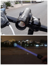 New Bicycle Light 7 Watt 2000 Lumens 3 Mode CREE Q5 LED cycling Front Light Bike lights Lamp Torch Waterproof cycling lights 210
