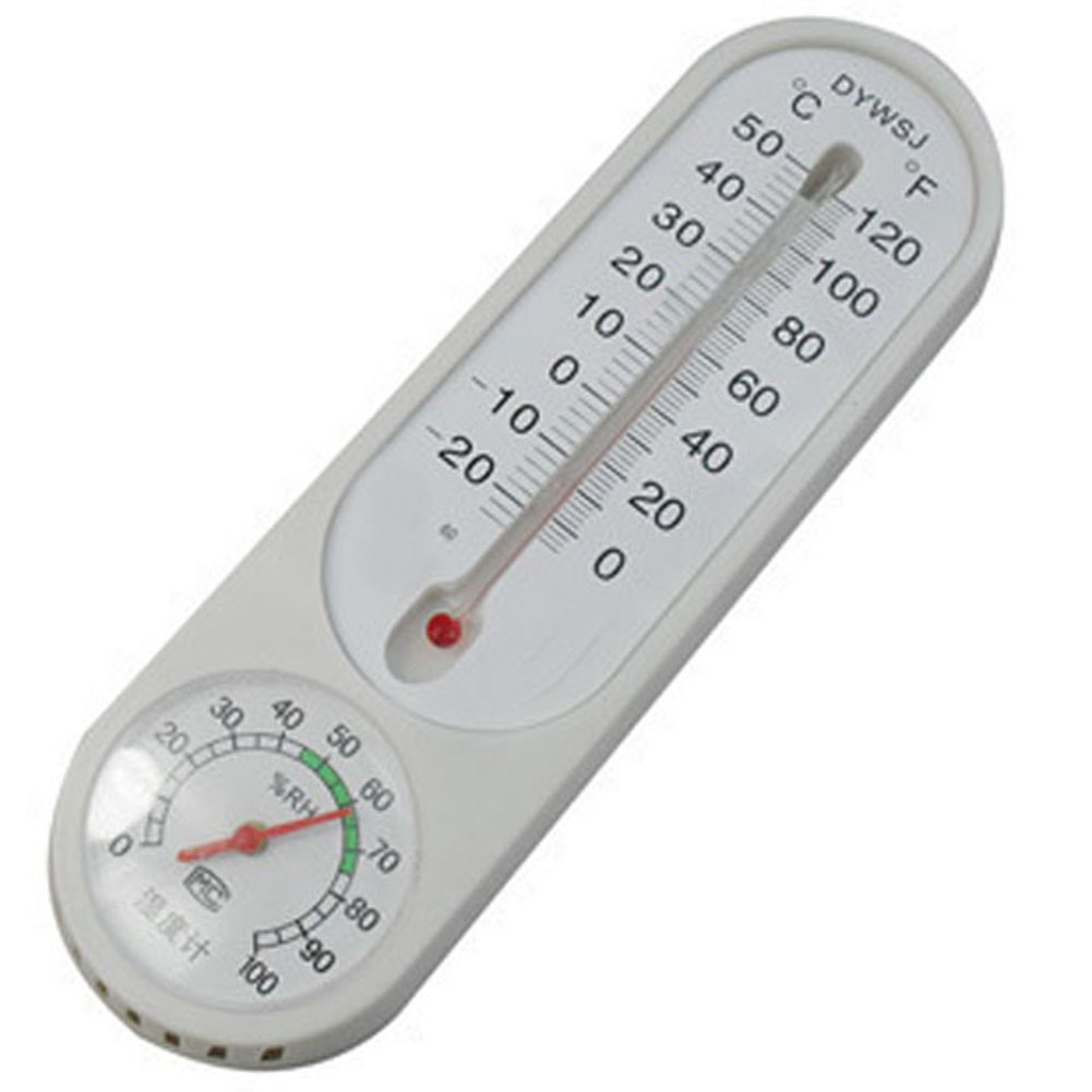 New Hanging Outdoor Indoor Household Thermometer Temp Mercury Pointer Hygrometer ETS88(China (Mainland))