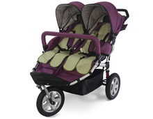 Hot Hot Sale Twins Baby Stroller Twins,Big Three Wheels Luxury Double Baby Stroller,Worldwide European Style Double Carriage(China (Mainland))