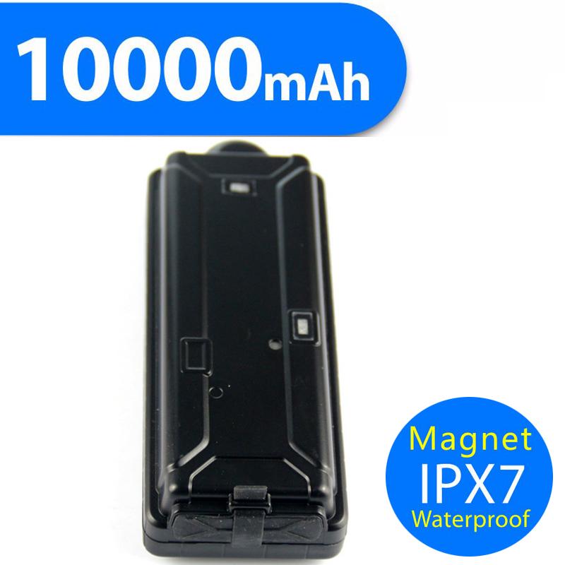 TK10 10000mAh big battery power bank waterproof magnetic gps tracker for assets cargo train & vehicles(China (Mainland))