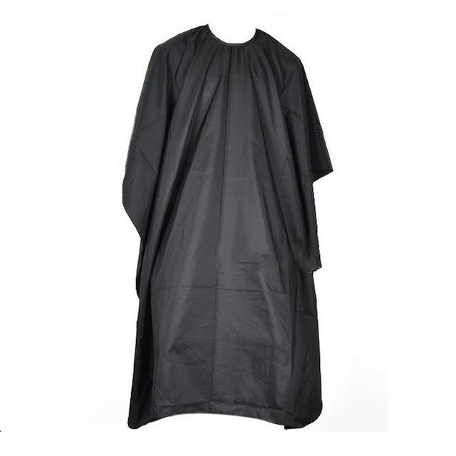 Большой Салон Взрослых Водонепроницаемый Стрижки Парикмахерские Ткань Парикмахеры Парикмахер Мыс Платье Wrap Черный
