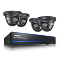 SANNCE 8CH CCTV System 2 0MP 1080P AHD DVR 4PCS Outdoor Night Vision Weatherproof Security Camera