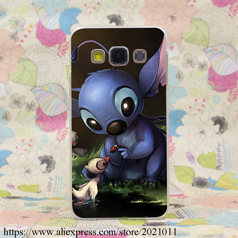 1150X Lilo Stitch Ducks Hard Case Cover Samsung A3 A5 7 8 J5 & Note 5 4 3 2 Grand Prime  -  Roy Fit Trading Co., Ltd. store