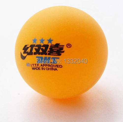 5 Boxes(30 Pcs) DHS 3 Stars 40MM Olympic Table Tennis Orange Ping Pong Balls HH-5(China (Mainland))