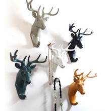 Retro stereoscopic Animals wall hook creative home accessories resin hooks art creative robe hook wall fashion decoration gift(China (Mainland))