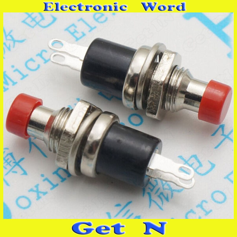 100pcs   PBS-110 Micro Light Resets Switch 7mm Self Locking Freshlight Poewr Switches<br><br>Aliexpress