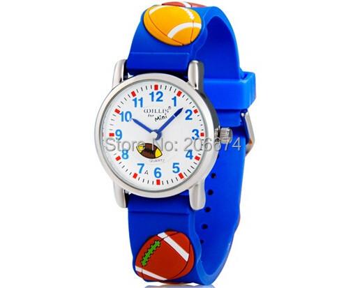 10M waterproof 3D Cartoon Animal Design Analog Wrist Watch Children clock / kid Quartz Wrist Watches<br><br>Aliexpress