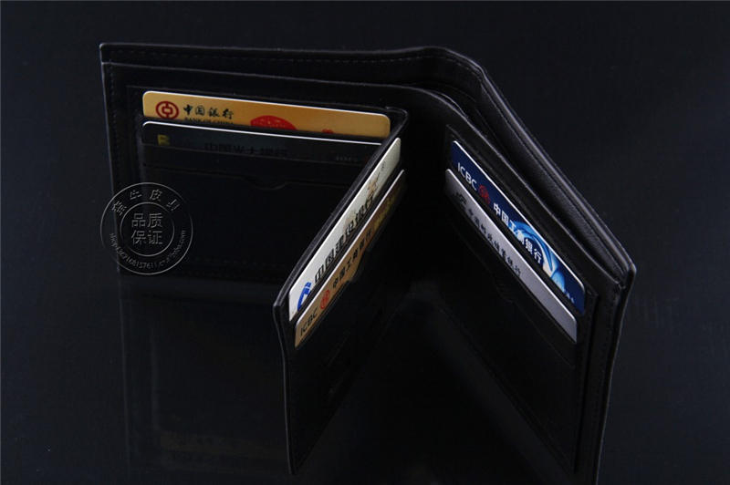 Men short cross Wallets Men s cross purse business short Wallet