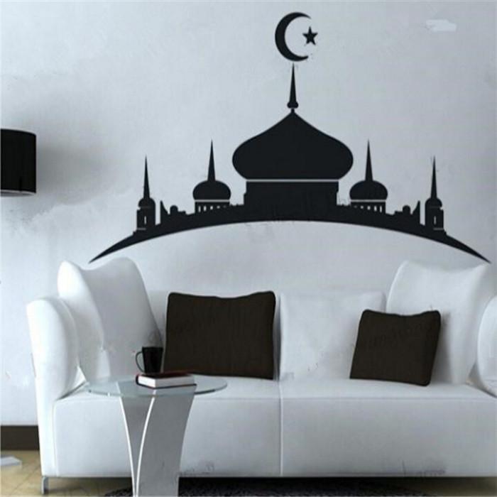 Islamique affiches promotion achetez des islamique for Decoration murale islamique