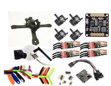 DIY FPV mini drone QAV-X 5″ pure carbon frame kit EMAX Cooling 2206II +Red Hawk BL20A ESC OPTO +NAZE32 / F3 + 700TVL camera