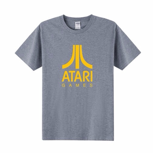 Pop Atari T Shirt ATARI Game T-Shirt Men Women Clothing 2016 Summer Short Sleeve 100% Cotton Round Neck Casual Tshirts Tops Tees