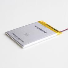 Сан 486789 полимера литиевая батарея 3.7 В 3400 мА мобильных устройств с плоской защиты аккумулятора