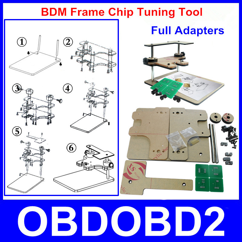 Strong And Durable BDM Frame Programmer Auto ECU Chip Tuning Tool For BDM100 Programmer / FG Tech Galletto / CMD Free Shipping(China (Mainland))