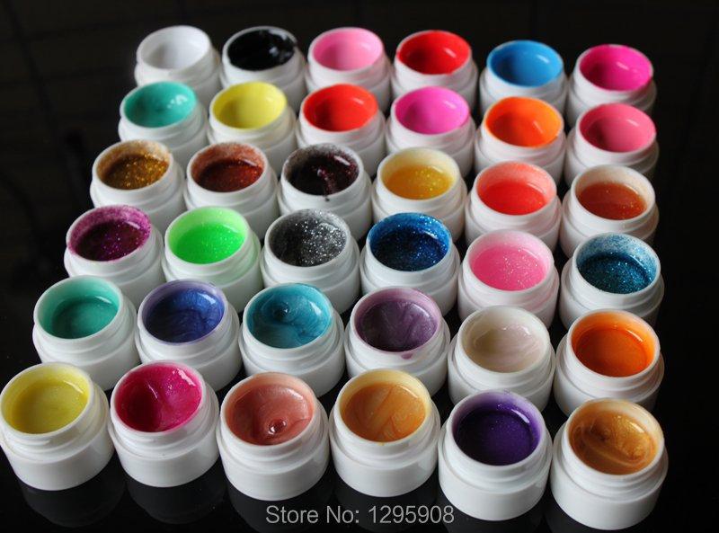 36 Mix color UV gel