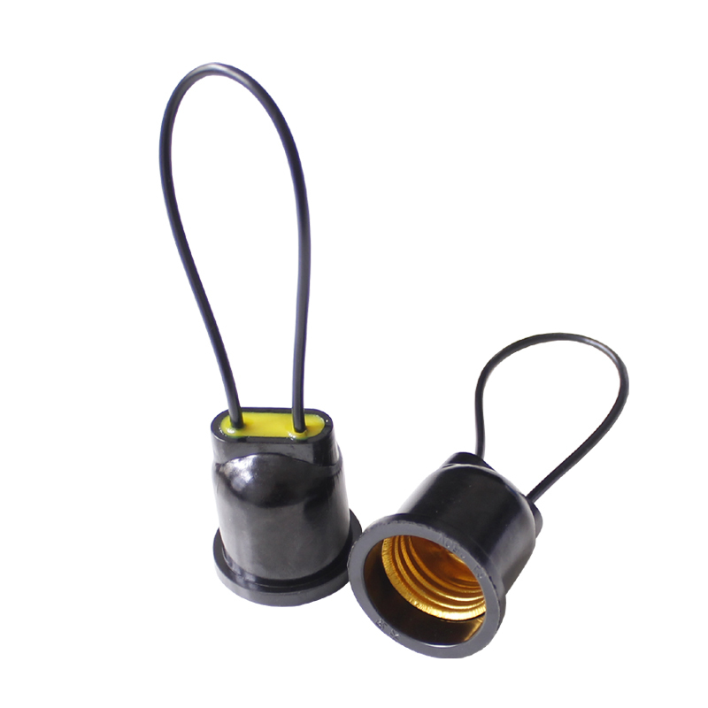 10pcs Waterproof Lampholder E27 Base Socket Lamp Holder(China (Mainland))