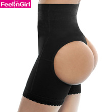 Hot Sale Shapers Pants Women Bandage Butt Lifter Black Waist Cincher Shapewear Plus Size S M L XL XXL 6207-5