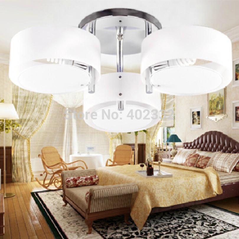 2015 Modern Simple LED Acrylic Ceiling Light Fashion Foyer Plated Ceiling Light E27 Bulb Base