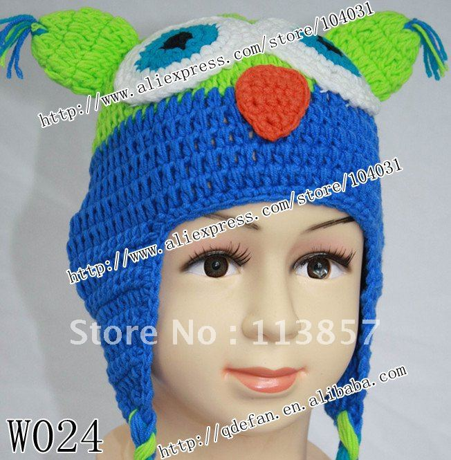 Crochet Patterns Cotton Yarn : protein cotton yarn CROCHET HAT PATTERN Beanie and Earflap Pattern ...