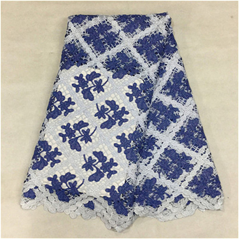 16L-W666! african swiss voile lace high quality water soluble cord lace,african guipure lace for 5 yards for party