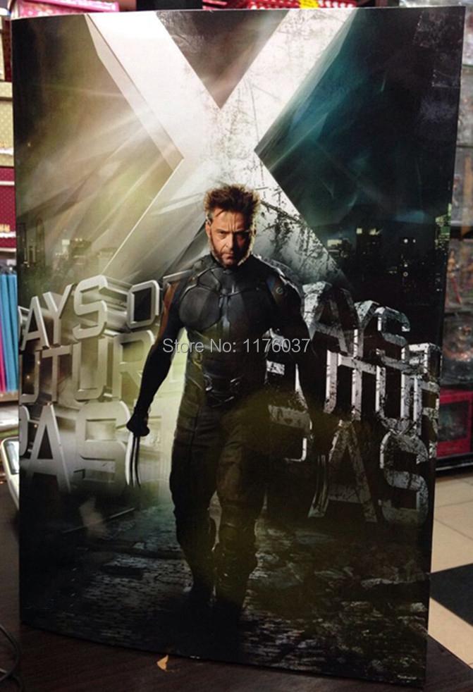 New Arrival Wolverine Logan  Days Of Future Past Hugh Jackman Battle Suit Marvel Superhero 30CM Action Figure Toys Original Box<br><br>Aliexpress
