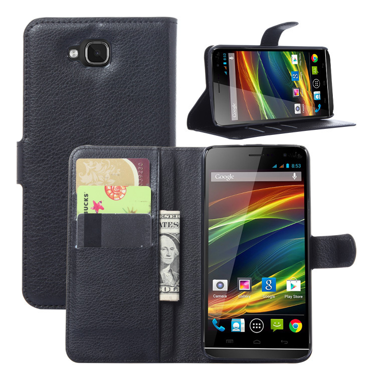 Newest Mobile Phone Bag Cover Case For Wiko Slide with Card holder Leather Wallet Style Stand Case Free Shipping(China (Mainland))
