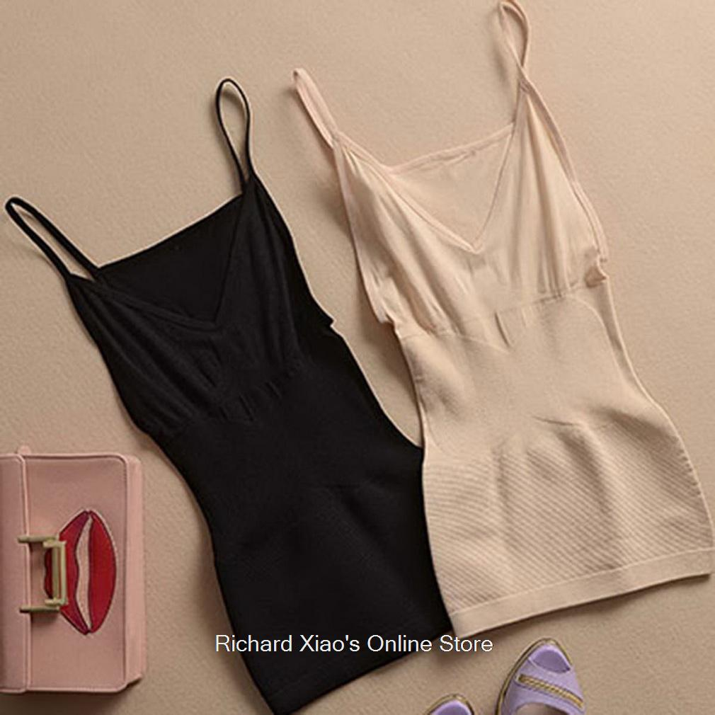 Weight Loss Fat Burning Open-Bust Camisole Slimming Vest Tops For Women
