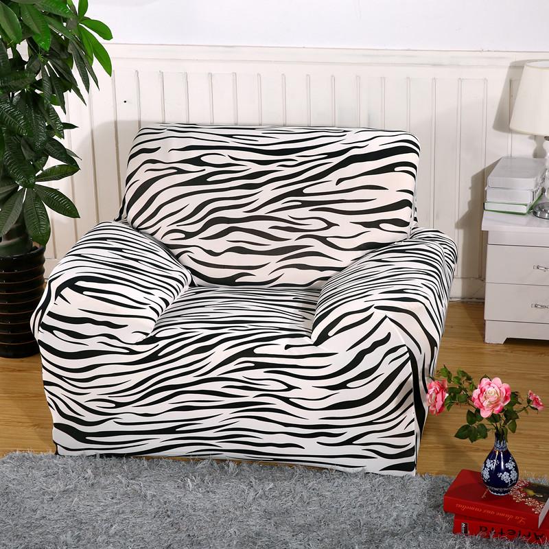 zebra pattern sofa cover sofa slipcovers cheap wrap tight. Black Bedroom Furniture Sets. Home Design Ideas