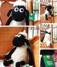 25cm/32cm Cute anime Shaun the sheep lamb plush Stuffed toys wholesale Christmas gift bag sends kids,Free shipping, Best gift(China (Mainland))