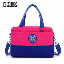 Large Capacity Women Messenger Bags Casual Waterproof Nylon Bag Famous Brand Handbags High Quality Patchwork Shoulder Bags 2016