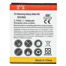 wholesale 1800mAh High Capacity Mobile Phone Battery for Samsung Galaxy Attain 4G / SCH-R920 50pcs/lot