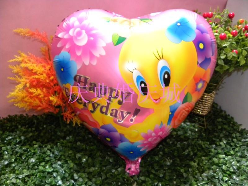 New heart aluminum foil balloon/wedding balloons/free shipping(China (Mainland))