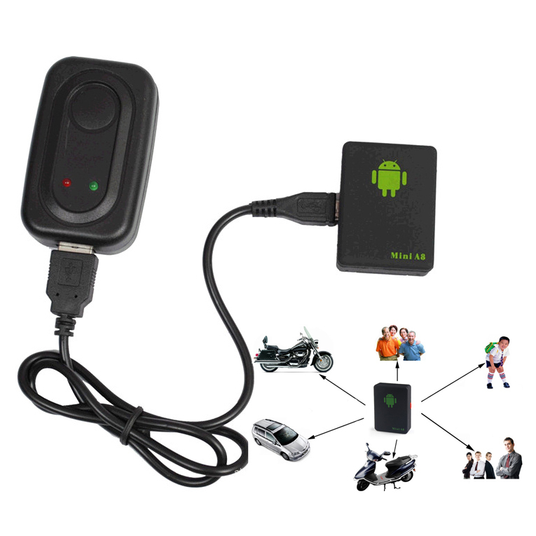 For kids/ Children/Pet/Car Mini A8 Global Real Time GPS Tracker GSM/GPRS/GPS Tracking(Hong Kong)
