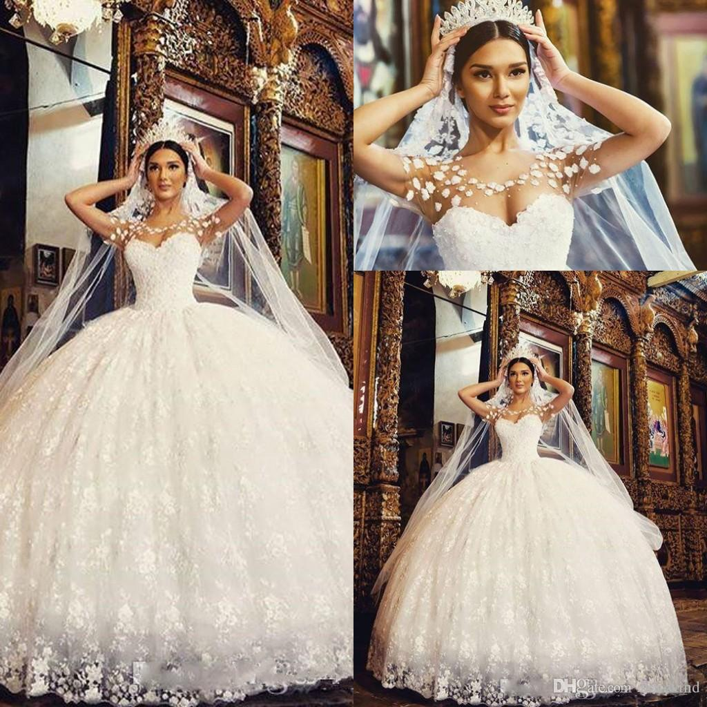 Popular Full Ball Gown Wedding Dresses-Buy Cheap Full Ball Gown ...