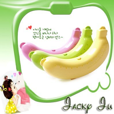 15pcs/Lot Free Shipping New Plastic Banana Case Guard Banana Container Protector Box For Trip