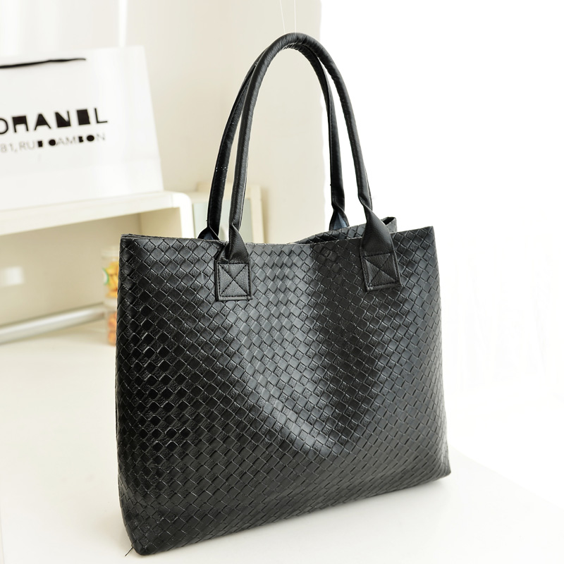 Women s handbag 2014 black big bag fashion star shoulder bag handbag large capacity bags