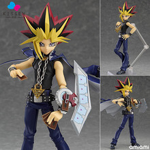 Kissen Boxed Figma 276 Yu-Gi-Oh! Duel Monsters YAMI YUGI PVC Action Figure Resin Collection Model Doll Toy Gifts Doll Cosplay