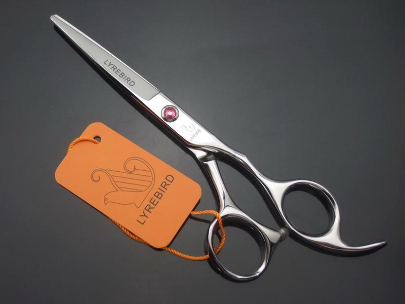 Hair cutting scissors 6 INCH or 5.5 INCH LYREBIRD tesoura de cabeleireiro profissional Pink stone Simple packing NEW(China (Mainland))