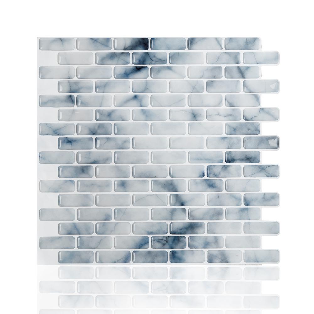 Wandtegels Keuken 10X10 : Wood Peel and Stick Wall Tiles
