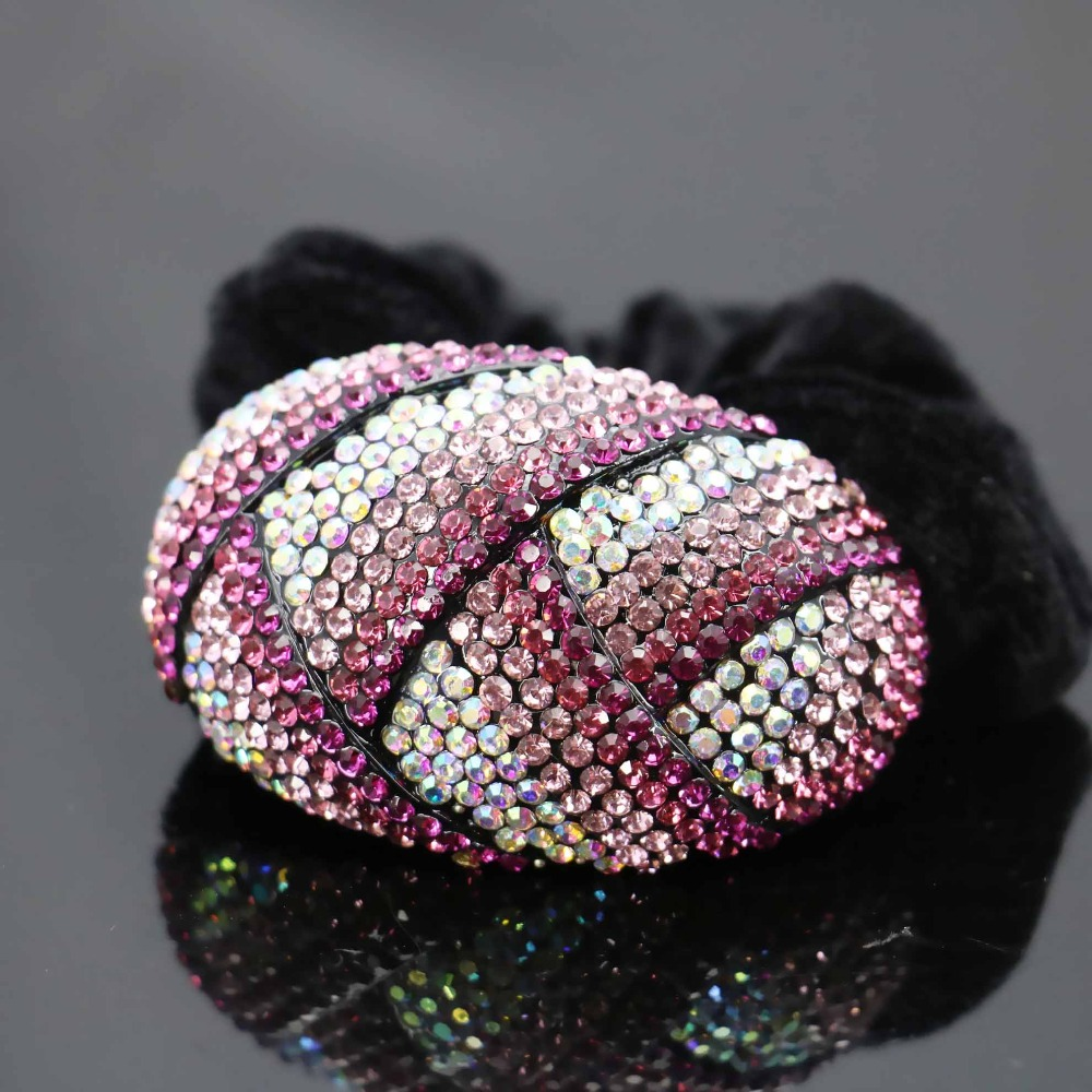 41*64mm Elestic Wedding Headdress Headband Head Bands Headpiece Inlaid Crystal beads Accessory Hair Clip Jewelry Making(China (Mainland))