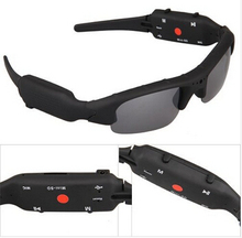 Fast shipping Mini camcorders DV DVR SPY glasses Sunglasses Camera Recorder HD(China (Mainland))