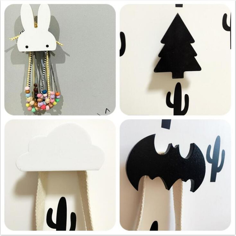 Buy baby child kids room wooden wall for Kids room hooks