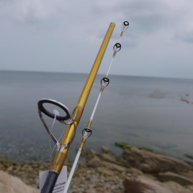 2.1m 2.4m JIGGING Fishing Rod Power Surf Spinning Fishing Pole Deep Sea Lure Rod Big Game Fishing Rods(China (Mainland))