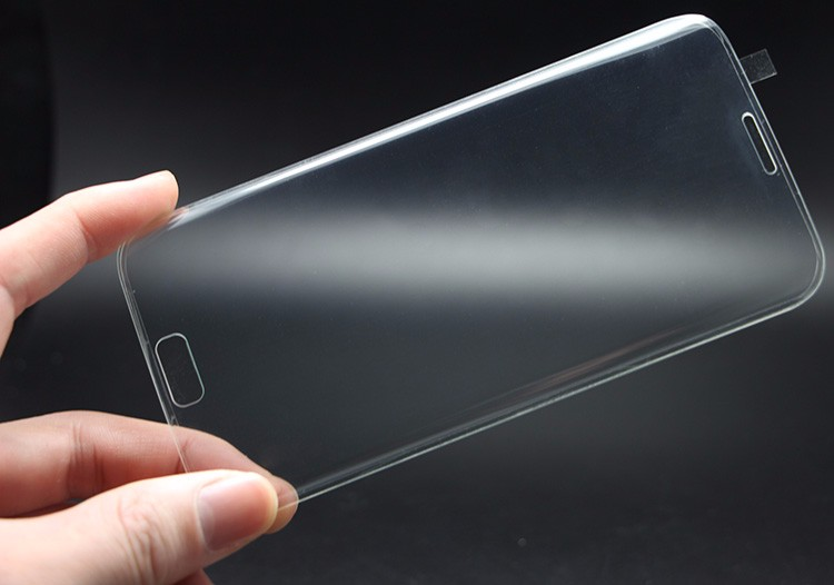New Ultra Thin 3D 2.5D Premium Tempered Glass Full Cover Screen Protector For Samsung Galaxy S7 edge HD Toughened Protect Film