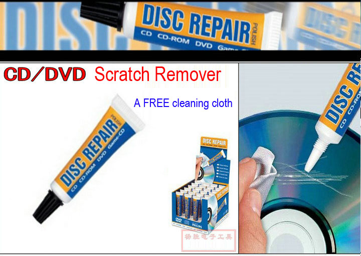 Germany DISC Repair Paste 5g Records Maintenance For Removing CD DVD DISK LP Scratch Cream(China (Mainland))